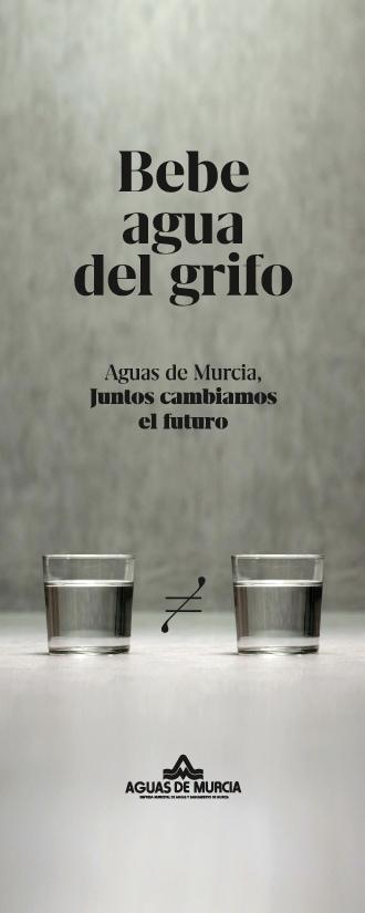 Lona Bebe agua del grifo Aguas de Murcia