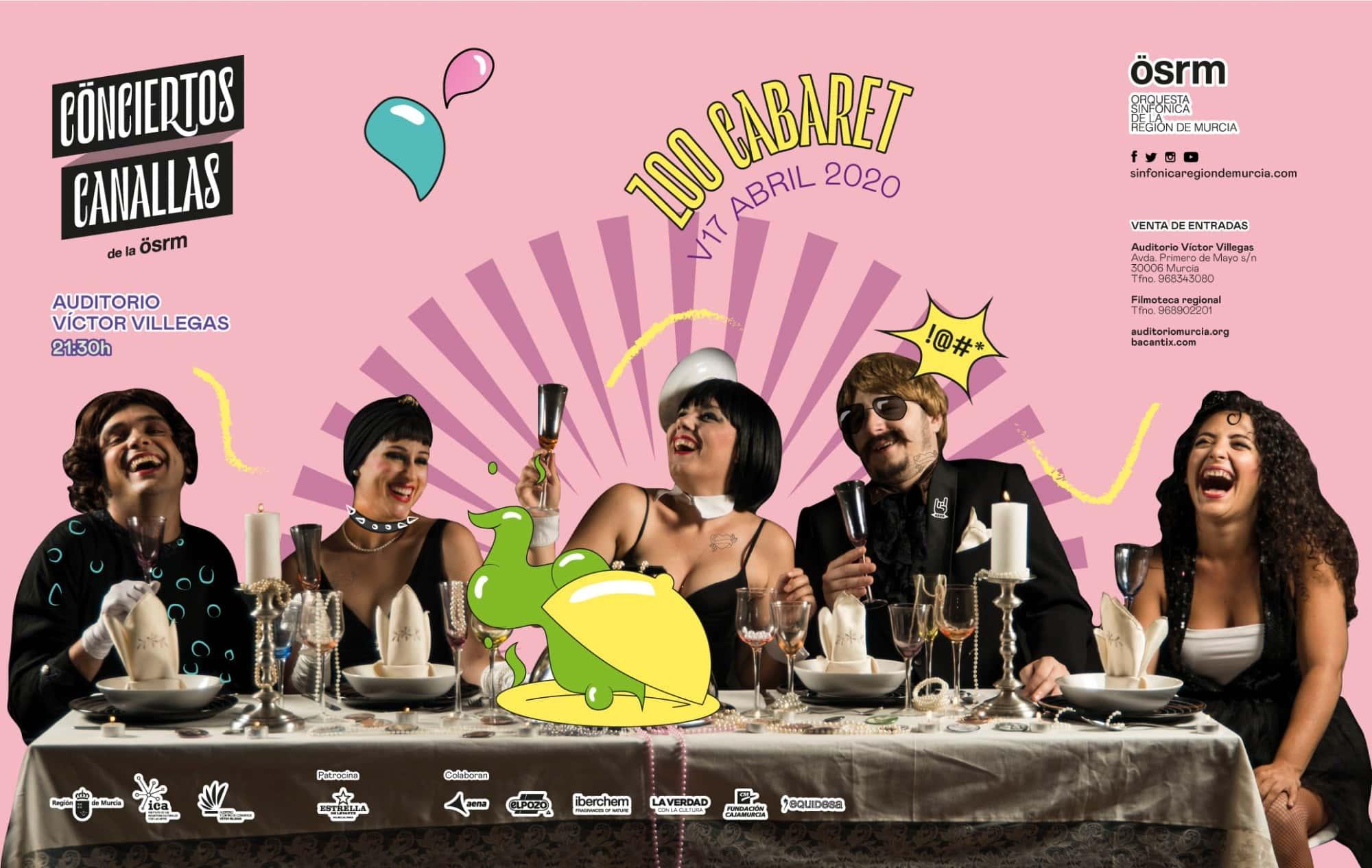 Zoo Cabaret Conciertos Canallas