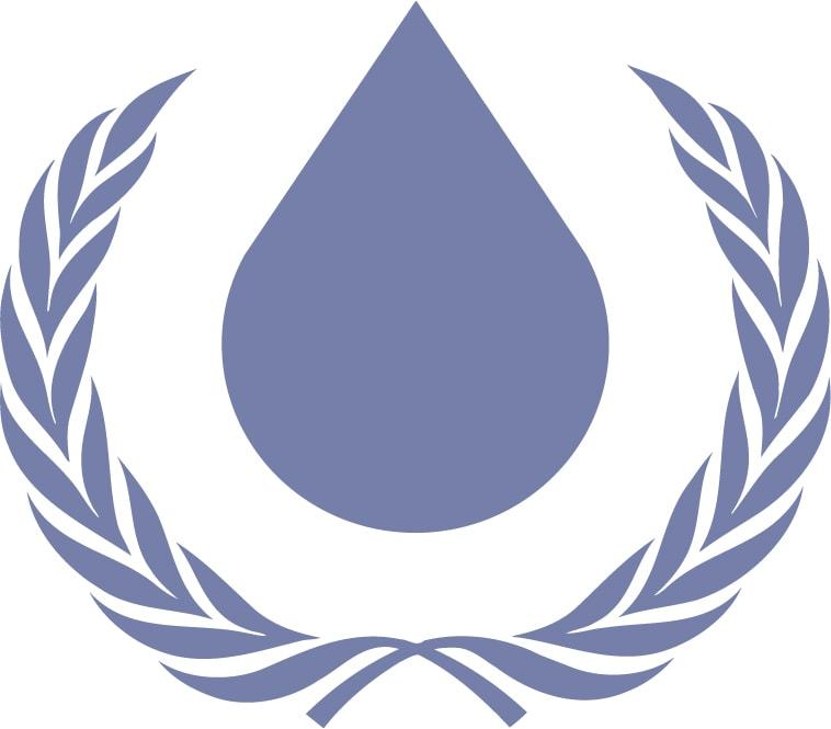 Símbolo derechos del agua